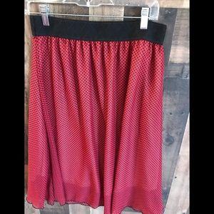 Medium Lularoe Chiffon Skirt